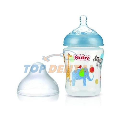 NUBY MAMADERA NATURAL TOUCH x270 ml