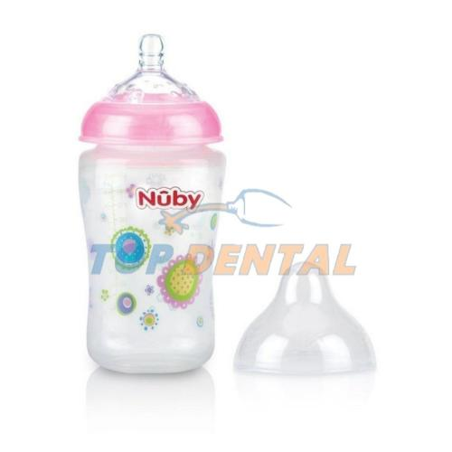 NUBY MAMADERA NATURAL TOUCH x360 ml