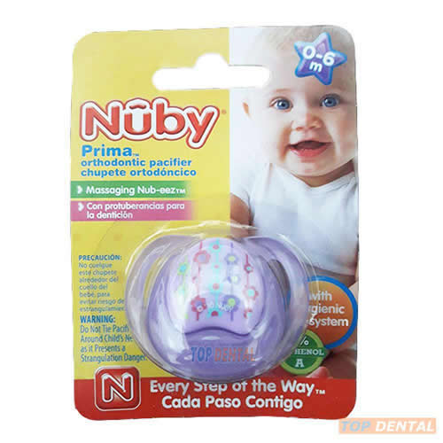 NUBY CHUPETE 0-6 MESES